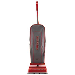 Oreck Commercial U2000R-1 Commercial Upright Vacuum, 120 V, Red/Gray, 12 1/2 x 6 3/4 x 47 3/4