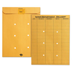 Quality Park(TM) Brown Kraft Resealable Redi-Tac(TM) Interoffice Envelope