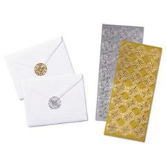 Quality Park™ Decorative Foil Envelope Seals Thumbnail