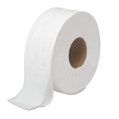 "Boardwalk® JRT Bath Tissue, Jumbo, Septic Safe, 2-Ply, White, 3.5"" x 1000 ft, 12 Rolls/Carton"