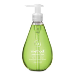 Method® Gel Hand Wash, Green Tea + Aloe, 12 oz Pump Bottle, 6/Carton