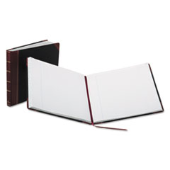 Boorum & Pease® Record Ruled Book, Black Cover, 300 Pages, 15 1/8 x 12 7/8