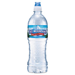 Ice Mountain® Natural Spring Water, 23.6 oz Bottle, 24 Bottles/Carton