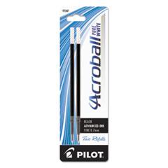 Pilot® Refill for Acroball Pens, Black, Fine, 2/Pk