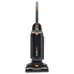 """Hoover® Commercial Task Vac Hard Bag Lightweight Upright Vacuum, 14"""" Cleaning Path, Black"""