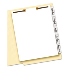 Avery® Write-On Tab Dividers for Classification Folders Thumbnail