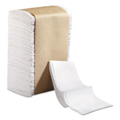 Marcal PRO™ 100% Recycled Dispenser Lunch Napkins,Tall Fold, 6 1/2x13 1/4,White,250/Pk,40/CT