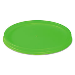 WinCup® Biodegradable Lids for Vio Food Containers, EPS, Green, 1000/Carton