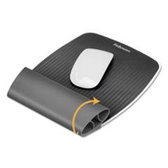 I-Spire Wrist Rocker Mouse Pad w/Wrist Rest, 7 13/16 x 10 x 1 1/16, Gray