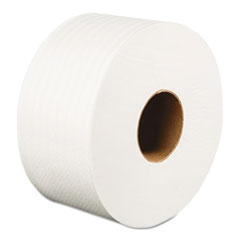 "Boardwalk® Jumbo Roll Bathroom Tissue, 2-Ply, White, 3.2"" x 525 ft, 12 Rolls/Carton BWK410320"