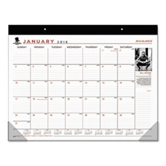 AAGSKW2400 - Wounded Warrior Project Desk Pad, 22 x 17, 2016