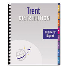 Avery® Ready Index® Customizable Table of Contents Unpunched Dividers with Narrow Tabs Thumbnail
