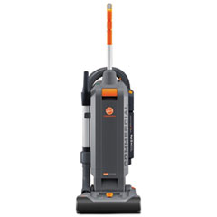 "Hoover® Commercial HushTone Vacuum Cleaner with Intellibelt, 13"", Orange/Gray"