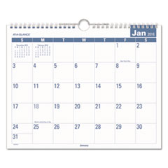 AT-A-GLANCE® Easy-to-Read Monthly Wall Calendar Thumbnail
