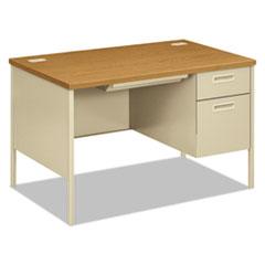 HON® Metro Classic Series Single Pedestal Desk
