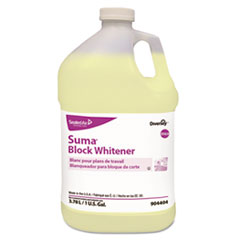 Diversey™ Suma Block Whitener, 1 gal Bottle, 4/Carton