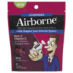 Airborne® Immune Support Lozenge, Berry Flavor, 20/Pack