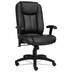 Alera® CC Executive High-Back Swivel/Tilt Leather Chair Thumbnail