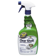 Zep Commercial® Clear Shell Mold & Mildew Inhibitor, 32 oz Spray Bottle, 12/Carton