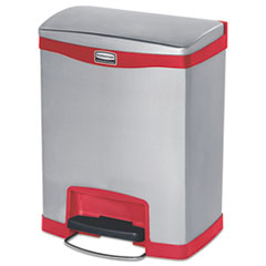Rubbermaid® Commercial Slim Jim® Stainless Steel Step-On Container Thumbnail
