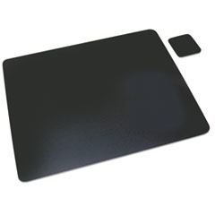 Artistic® Leather Desk Pad with Coaster Thumbnail