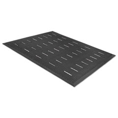 Guardian Free Flow Comfort Utility Floor Mat, 36 x 48, Black