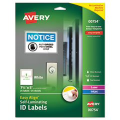 Avery® Self-Laminating ID Labels Thumbnail