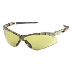 KleenGuard™ Nemesis Safety Glasses, Camo Frame, Amber Anti-Fog Lens