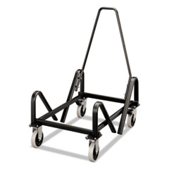 HON® Olson Stacker Series Cart, 21-3/8 x 35-1/2 x 37, Black