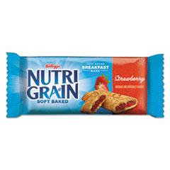 Kellogg's® Nutri-Grain Cereal Bars, Strawberry, Indv Wrapped 1.3oz Bar, 16/Box