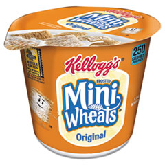 Kellogg's® Breakfast Cereal, Frosted Mini Wheats, Single-Serve, 6/Box