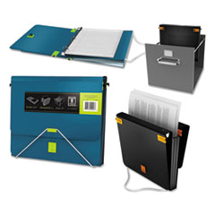 Samsill® TRIO 3-in-1 Binder Organizer