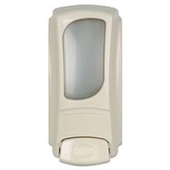 Dial® Professional Eco-Smart/Anywhere Flex Bag Dispenser, 15 oz, 4 x 3.1 x 7.9, Cream 6/Carton