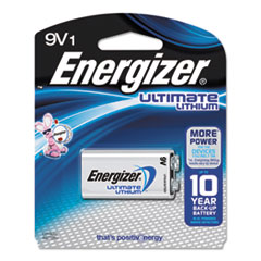 Energizer® Ultimate Lithium 9V Batteries