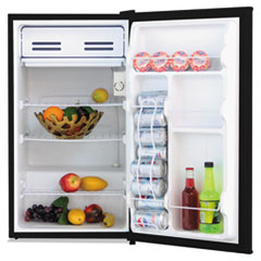 Alera™ 3.3 Cu. Ft. Refrigerator with Chiller Compartment, Black