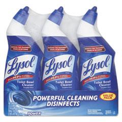 LYSOL® Brand Disinfectant Toilet Bowl Cleaner, Wintergreen Scent, 24 oz Bottle, 3/Pk, 4 Pk/Ct RAC90704