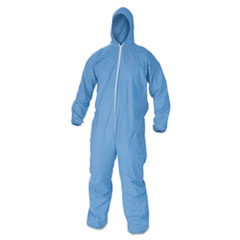 KleenGuard* A60 Elastic-Cuff and Back Hooded Coveralls Thumbnail