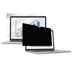 "PrivaScreen Blackout Privacy Filter for 14.1"" Widescreen LCD/Notebook, 16:10"