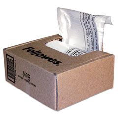 Shredder Waste Bags, 6-7 gal Capacity, 100/CT