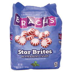 Brach's® Star Brites Peppermint Candy, Individually Wrapped, 58 oz Bag