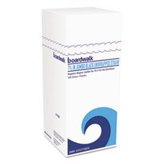 "Boardwalk® Jumbo Straws, 7 3/4"", Plastic, Black, Unwrapped, 250/Pack"