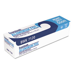 "Boardwalk® Heavy-Duty Aluminum Foil Roll, 12"" x 500 ft"