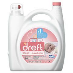 Dreft® Ultra Laundry Detergent, Liquid, Baby Powder Scent, 150 oz Bottle