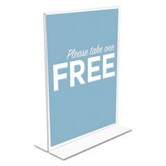 deflecto® Double-Sided Sign Holder
