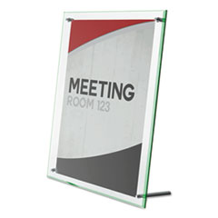 deflecto® Superior Image® Beveled Edge Sign Holder Thumbnail