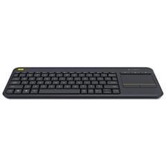 Logitech® Wireless Touch Keyboard K400 Plus, Black