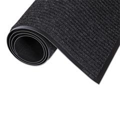 Crown Needle-Rib Wiper/Scraper Mat, Polypropylene, 24 x 36, Charcoal