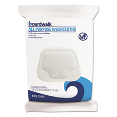 Boardwalk® Premoistened Personal Washcloths Thumbnail