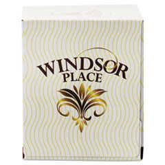 Resolute Tissue Windsor Place Cube Facial Tissue, 2-Ply, White, 85 Sheets/Box, 30 Boxes/Carton