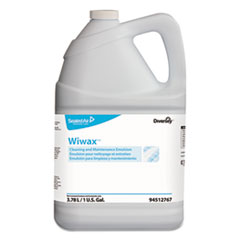 Diversey™ Wiwax Cleaning and Maintenance Solution, Liquid, 1 gal Bottle, 4/Carton